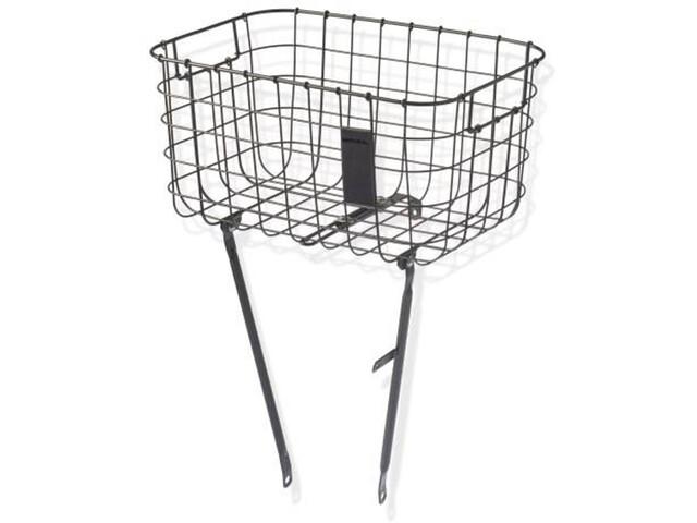 Basil Robin Luggage Pannier Basket black